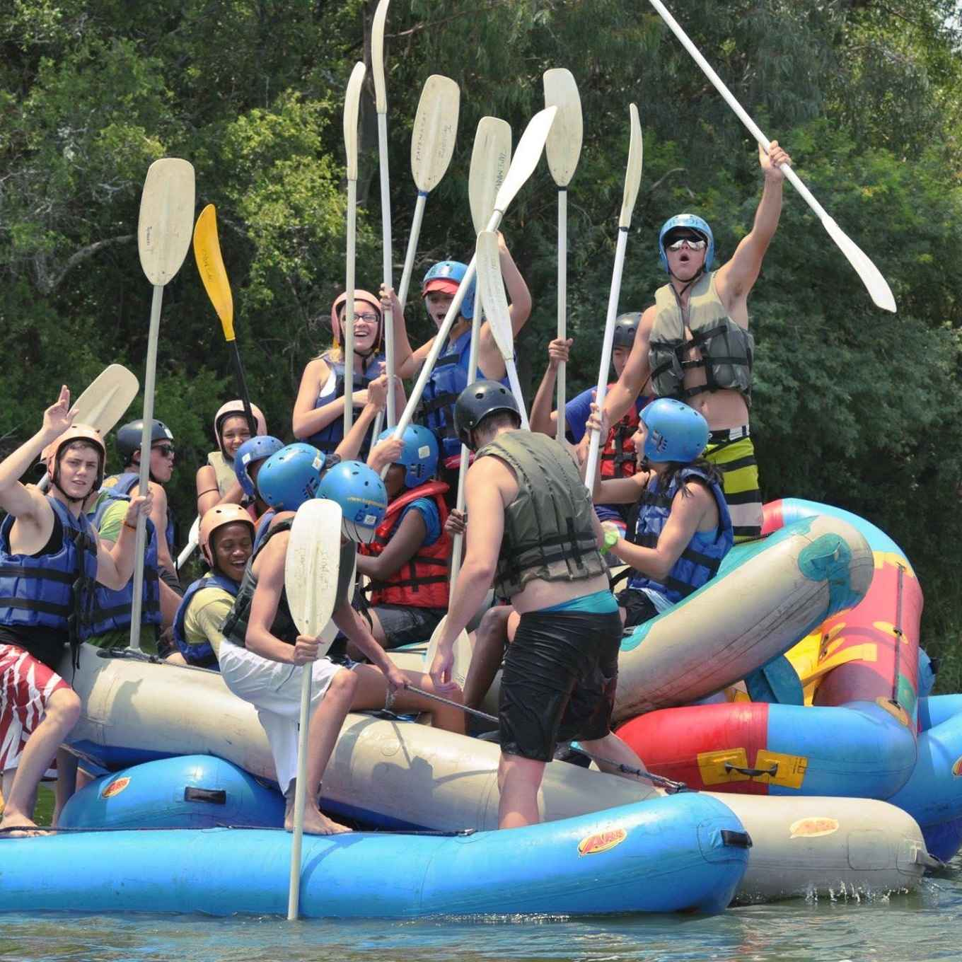 Bushveld Parties River Rafting